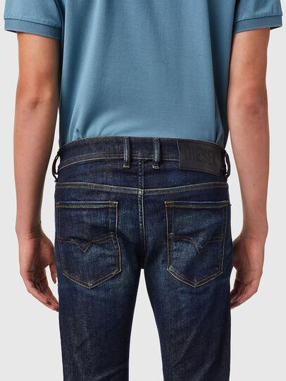 Diesel - Sleenker 09B07, Dark Blue - Jeans - Image 5