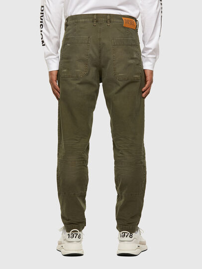 Diesel - D-Azzer JoggJeans 069NF, Military Green - Jeans - Image 2