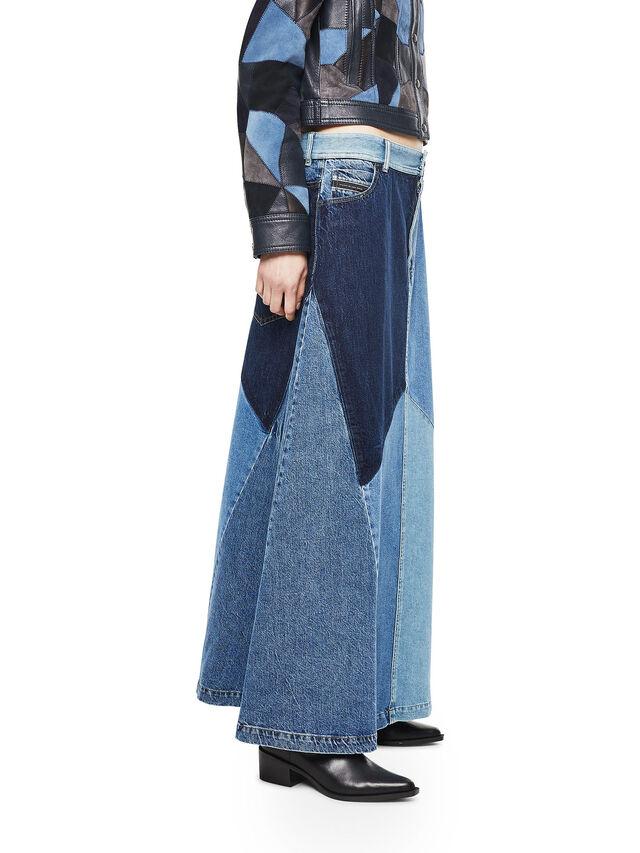 Diesel - ODETTE, Blue Jeans - Skirts - Image 3