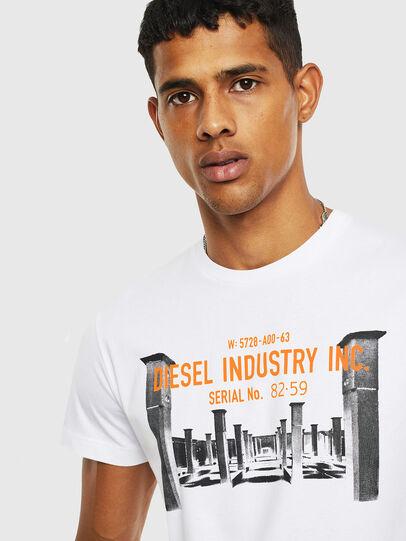 Diesel - T-DIEGO-S13, White - T-Shirts - Image 3