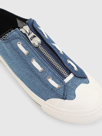 Diesel - S-ASTICO LZIP, Blue - Sneakers - Image 4