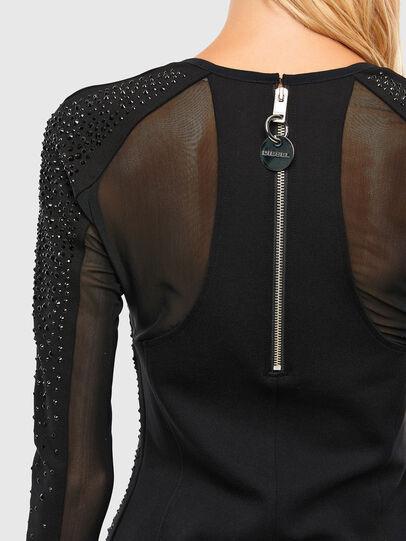 Diesel - D-BRILLA, Black - Dresses - Image 4