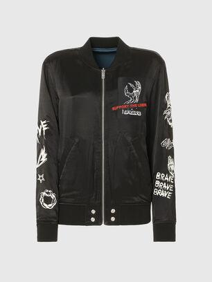 J-SMOKED, Black - Jackets