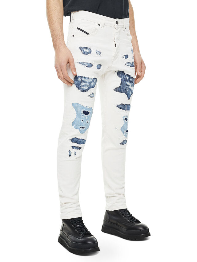 Diesel - TYPE-2880, White/Blue - Jeans - Image 3