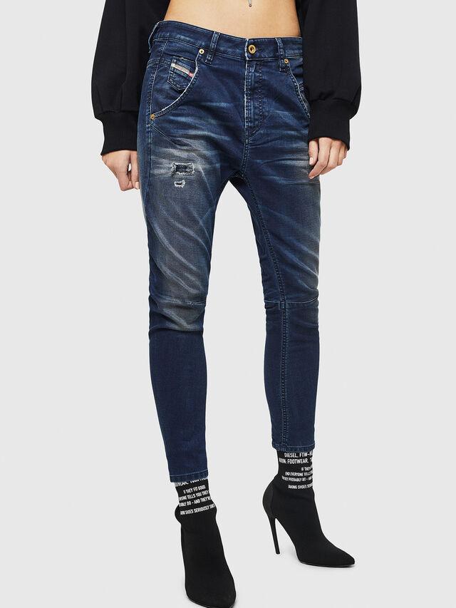 Diesel - Fayza JoggJeans 069GZ, Dark Blue - Jeans - Image 1
