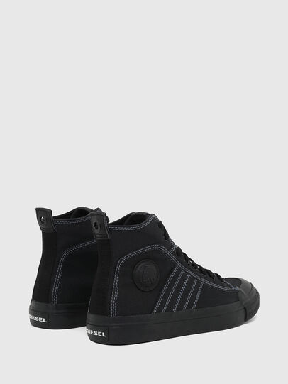 Diesel - S-ASTICO MID LACE, Black - Sneakers - Image 3