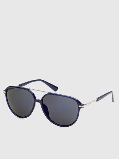 Diesel - DL0352, Blue - Sunglasses - Image 2
