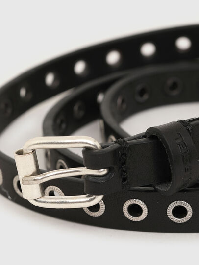 Diesel - B-EYE, Black - Belts - Image 2
