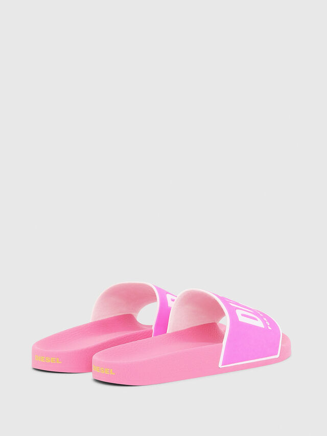 Diesel - SA-VALLA W, Pink - Slippers - Image 3