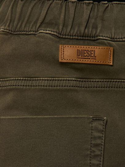 Diesel - KROOLEY JoggJeans® 0670M, Dark Green - Jeans - Image 4