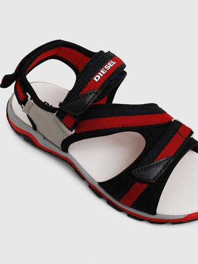 Diesel - SA 07 STRIPE CH, Grey/Red - Footwear - Image 4