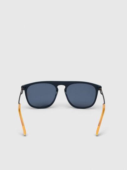 Diesel - DL0297, Blue/Yellow - Sunglasses - Image 4