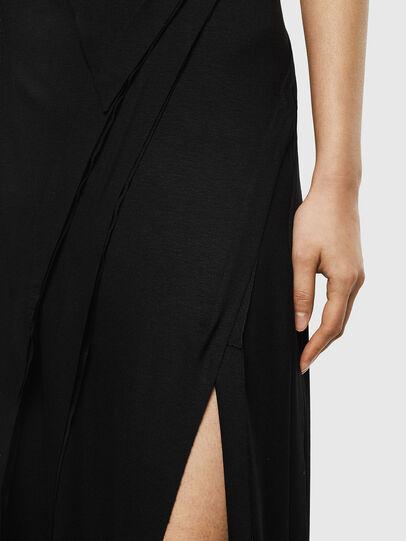 Diesel - D-AQUARZ, Black - Dresses - Image 4