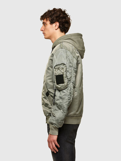 Diesel - J-LAGASH, Military Green - Jackets - Image 5
