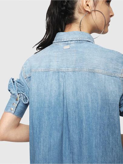 Diesel - DE-BLANCHE, Blue Jeans - Dresses - Image 4