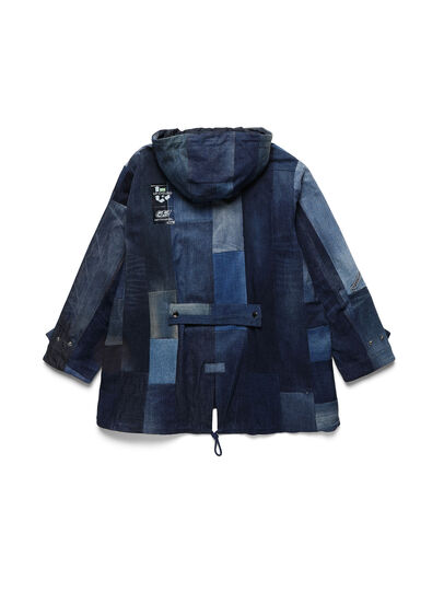 Diesel - D-55PARKA, Medium blue - Winter Jackets - Image 2