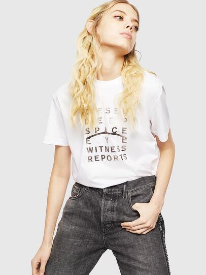 Diesel - T-DIEGO-J8, White - T-Shirts - Image 6