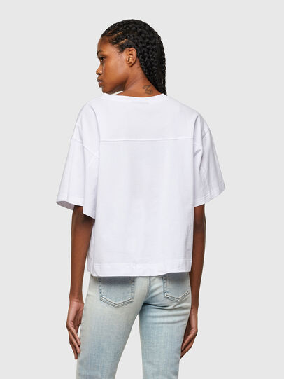 Diesel - T-BOWLESS-A1, White - T-Shirts - Image 2