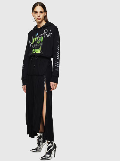 Diesel - O-FRIDA, Black - Skirts - Image 6