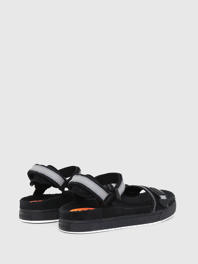 Diesel - SA-GRAND LC, Black/Grey - Sandals - Image 3