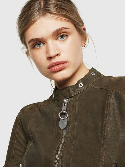 Diesel - L-LYSSA-G,  - Leather jackets - Image 3