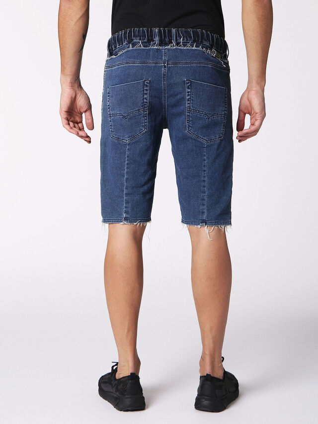 KROOSHORT W JOGGJEANS, Blue jeans