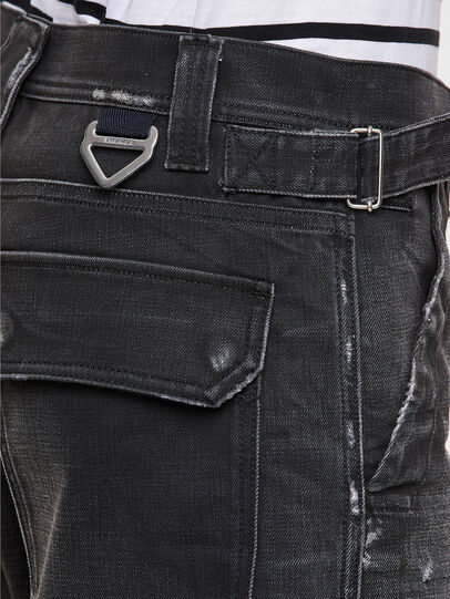 Diesel - D-Multy 009KX, Black/Blue - Jeans - Image 5