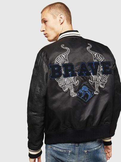 Diesel - L-KHARKOV,  - Leather jackets - Image 2
