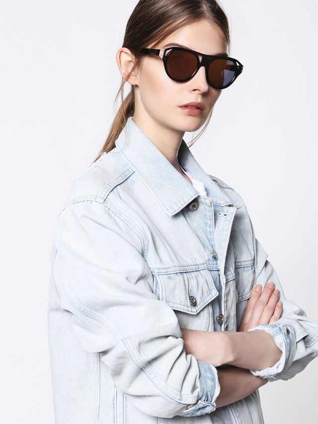 Diesel - DL0233, Black - Sunglasses - Image 3
