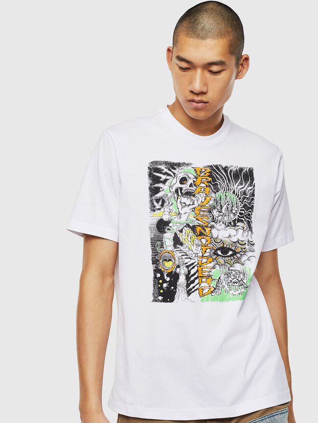 T-JUST-J13, White - T-Shirts