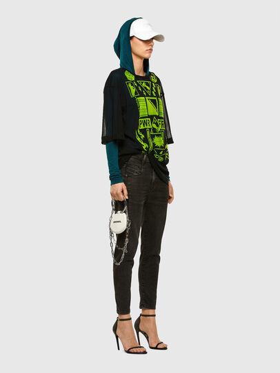 Diesel - FAYZA JoggJeans® 009HM, Black/Dark grey - Jeans - Image 6