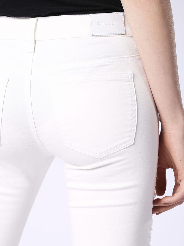 DHARY 084PG, White Jeans