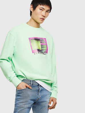 S-BIAY-FLUO, Green Fluo - Sweaters