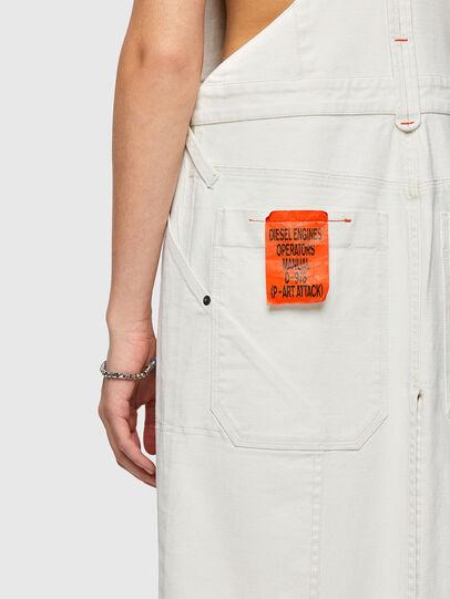 Diesel - DE-TYPO-SP, White - Jumpsuits - Image 3