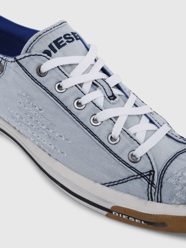 Diesel - EXPOSURE LOW I, Light Blue - Sneakers - Image 4
