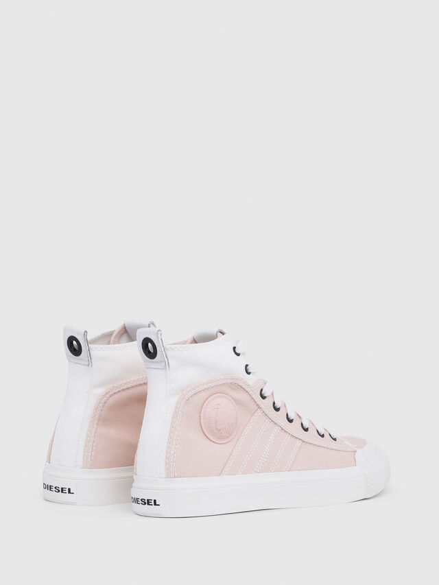 Diesel - S-ASTICO MID LACE W, Pink/White - Sneakers - Image 3