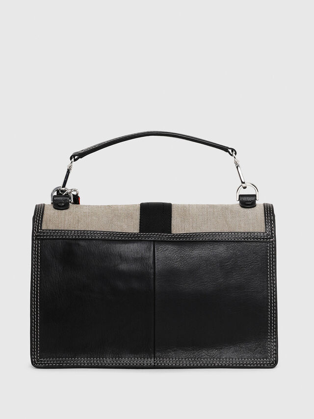 Diesel - MISS-MATCH CROSSBODY, Black/Grey - Crossbody Bags - Image 2