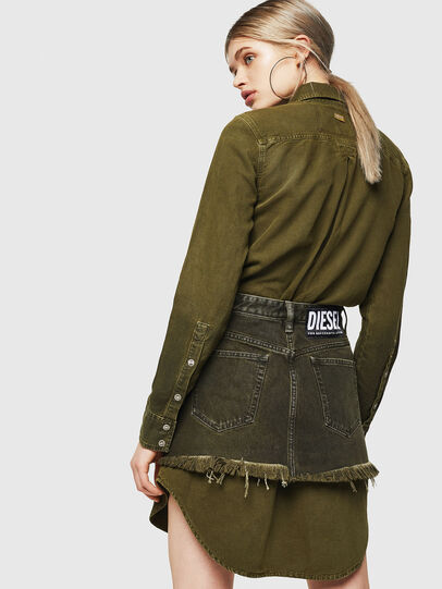 Diesel - DE-DESY-Z, Military Green - Dresses - Image 2