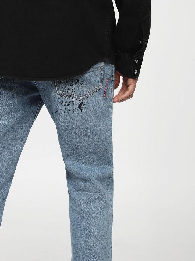 Diesel D-PLANET, Black Jeans - Denim Shirts - Image 3
