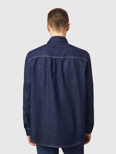Diesel - D-WORKY-SP, Blue - Denim Shirts - Image 2