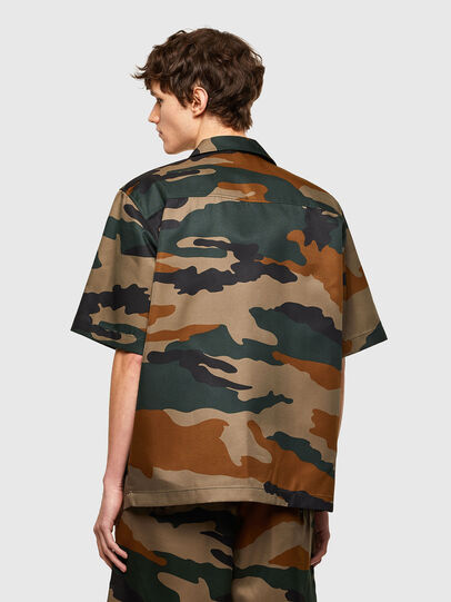 Diesel - S-WOLF-CAMU, Brown/Green - Shirts - Image 2