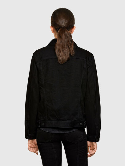 Diesel - NHILL-C1, Black - Denim Jackets - Image 4