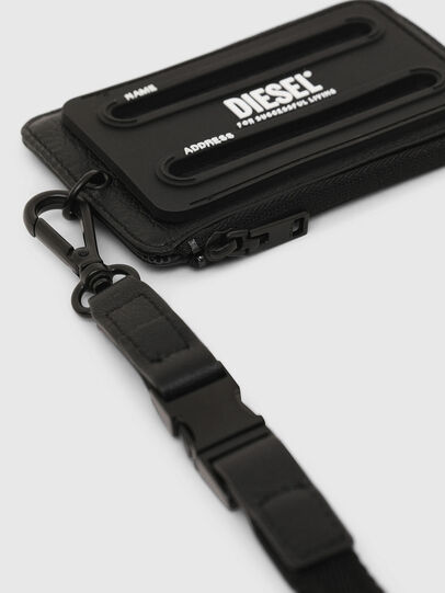 Diesel - CARRYBADGE, Black - Card cases - Image 3