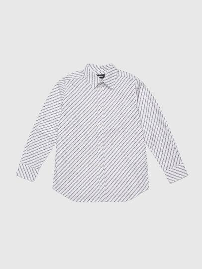 Diesel - CSPENNCOPY, White/Black - Shirts - Image 1