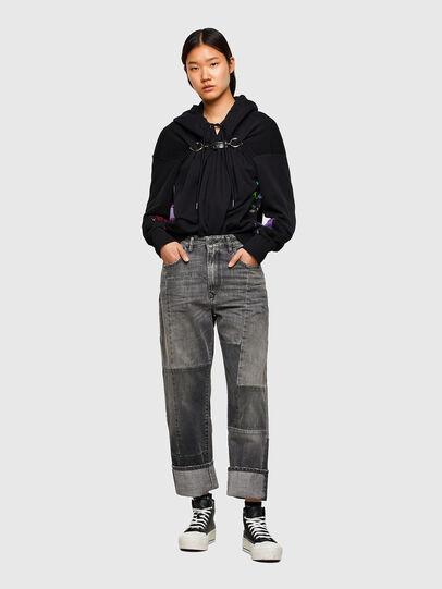 Diesel - F-ALBYHOOKA-SID, Black - Sweaters - Image 5