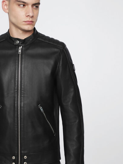 Diesel - L-QUAD,  - Leather jackets - Image 3