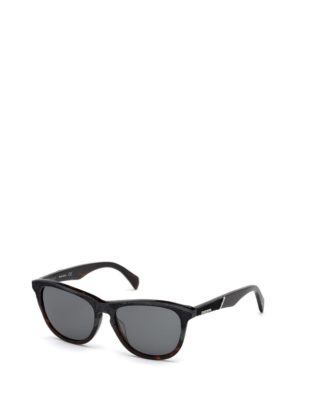Diesel - DM0192, Dark Blue - Sunglasses - Image 4