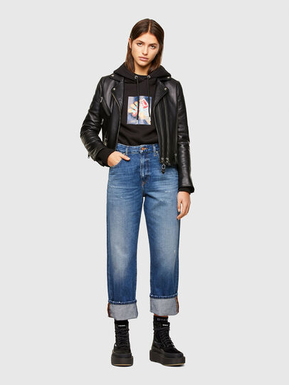 Diesel - D-Reggy 009RV, Medium blue - Jeans - Image 5