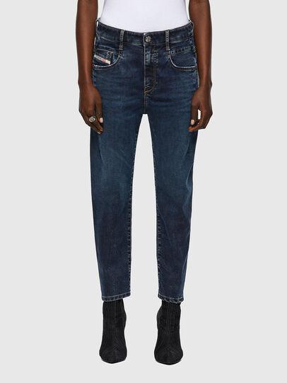 Diesel - Fayza JoggJeans® 069WZ, Dark Blue - Jeans - Image 1