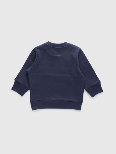 Diesel - SCREWDIVISIONB, Navy Blue - Sweaters - Image 2